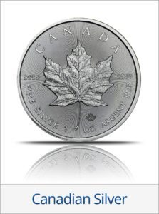 Buy Canadian Silver