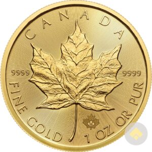 Canadian Gold Maple Leaf Common Date