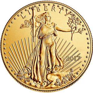 2017 1 oz Gold American Eagle Coins