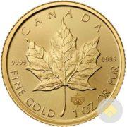 2017 1 oz Gold Maple Leaf Coin