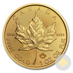2017 Canadian Gold Maple Leaf
