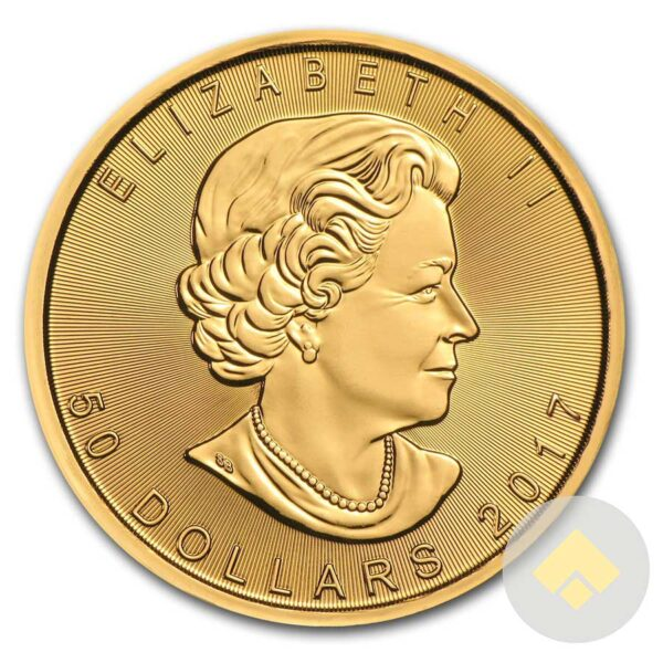2017 1 oz Gold Canadian Maple Leaf Coin