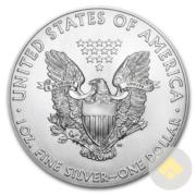 Silver American Eagle Reverse