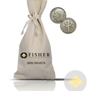 90% Silver Dimes Bag