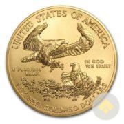 American Gold Eagle Reverse