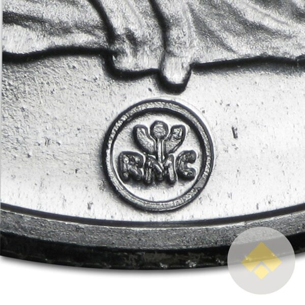 RMC Silver Round Mint Mark