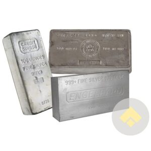 100 oz Silver Bars Secondary Market