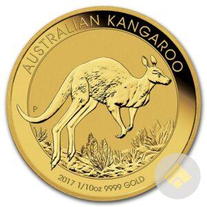 1/10 oz Australian Gold Kangaroo Coin