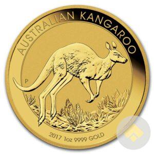 2017 Australian 1 Oz Gold Kangaroos