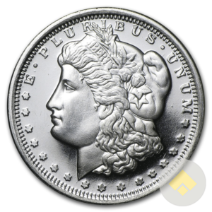 1/2 oz Morgan Dollar Silver Round