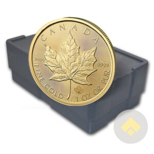 Canadian Gold Maple Leaf Monster Box