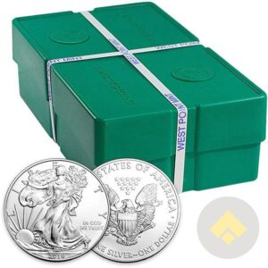 Silver American Eagle Monster Box -Common Date