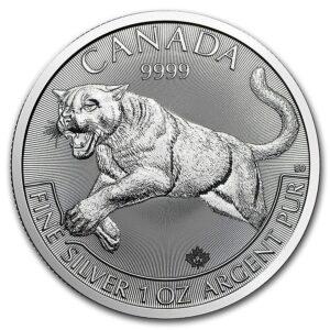 Silver Cougar Coin