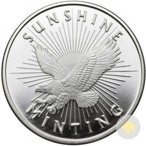 1 oz Sunshine Silver Round - MintMark SI™