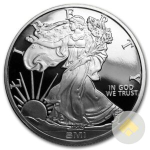 1 oz Walking Liberty Silver Round - MintMark SI™