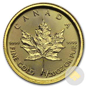 1/20 oz Canadian Gold Maple Leaf
