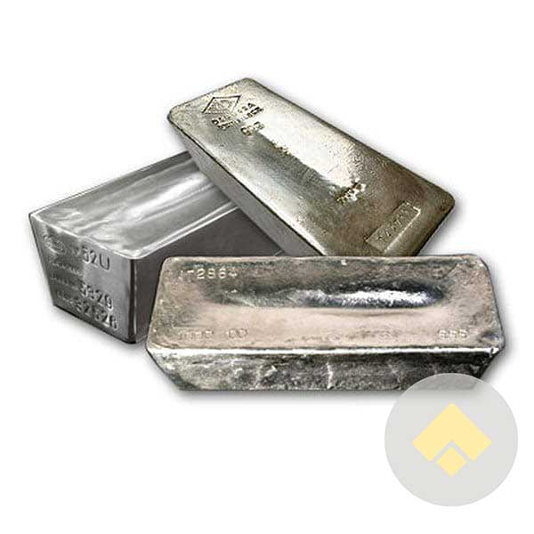 1000 Oz Comex Silver Bar Fisher Precious Metals