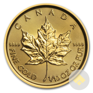 The 1/10 oz Canadian Gold Maple Leaf coin is a popular small fractional gold coin, this coin is both beautiful and affordable. These are one tenth oz Gold Maples