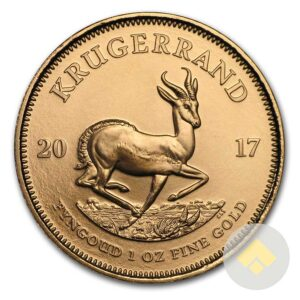2017 South African 1 oz Gold Krugerrand