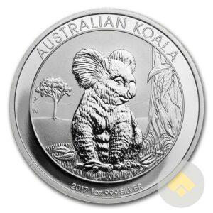 2017 1 oz Silver Koala Coin
