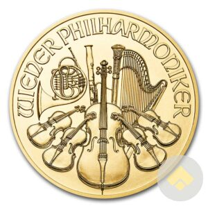 2017 1 oz Austrian Gold Philharmonic Coin