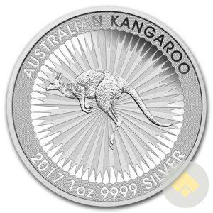 2017 Australian Silver Kangaroo