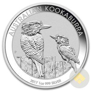 2017 Australian 1 oz Silver Kookaburra