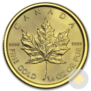 1/4 oz Canadian Gold Maple Leaf - Random Year