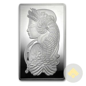 5 oz PAMP Suisse Silver Bar Fortuna
