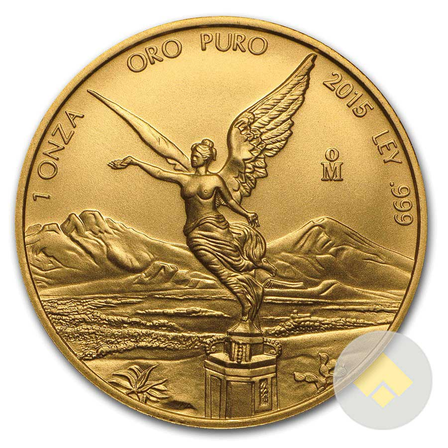 Mexican 1 Oz Gold Libertad Random Year