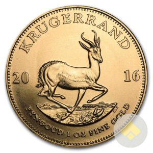 South African 1 oz Gold Krugerrand - Random Year