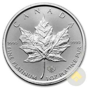 Canadian 1 oz Platinum Maple Leaf