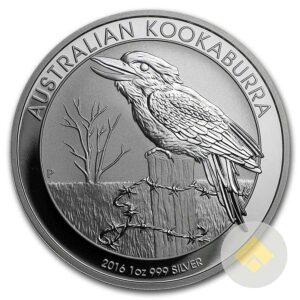 Australian 1 oz Silver Kookaburra