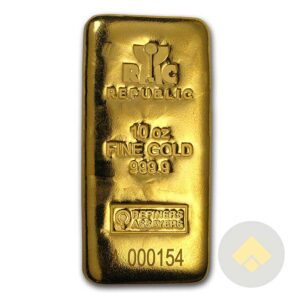 Republic Metals Corp. 10 oz Gold Bar