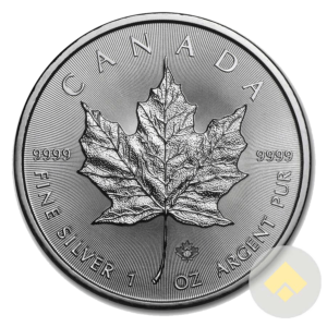 Royal Canadian Silver Maple Leaf