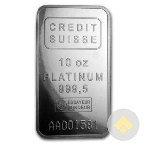 10 oz Platinum Bars