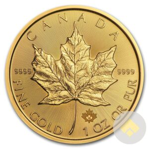 2018 Canadian Gold Maple Leaf 1 oz